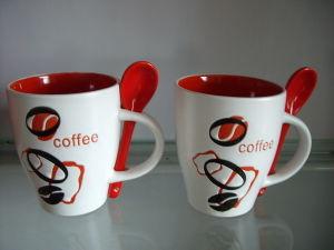 11oz Ceramic Mug with Spoon (SPMUG-088)