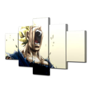 Printed Vegeta Dragon Ball Z Super Saiyan Painting Canvas Print Room Decor Print Poster Picture Canvas Mc-065 pictures & photos