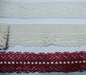 100% Cotton Crochet Lace pictures & photos