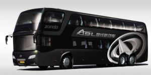 Zonda New Model In 2009 - Double Deck Passenger Bus