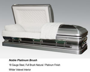 Noble Platinum Casket