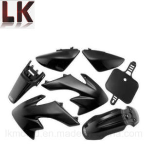 High Performance Black Plastic Molded Covers for Motorcycle pictures & photos