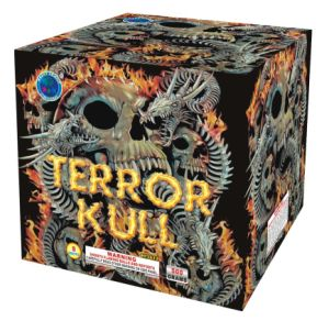 (Terror Kull) 9Shots Cake Firework (HF3612)