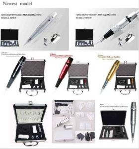 Permanent Makeup Tattoo Machine Kit in Goochie pictures & photos