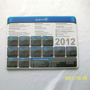 Popular Calendar Mouse Pad for Cheap Promotional Mouse Mat pictures & photos