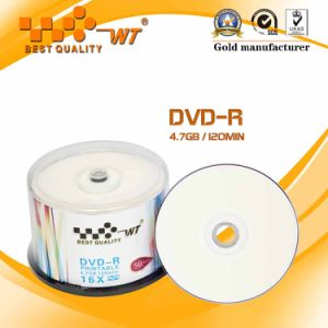 Inkjct Printable CD-R 52x Blank Disc