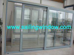 Sliding Door - Aluminium Thermal Break Sliding Door pictures & photos