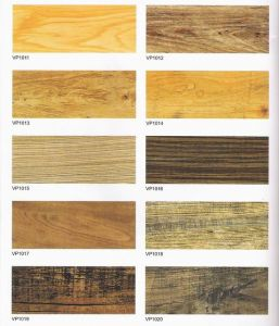 Vinyl PVC Laminate Flooring Tile pictures & photos