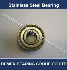 Stainless Steel Deep Groove Ball Bearing 608zz pictures & photos