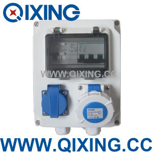 Qixing Plastic Combination Socket Box (QCXY-01) pictures & photos