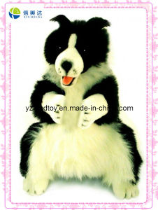 Body Puppet Collie Dog Plush Toy (XDT-0126) pictures & photos