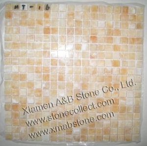 Honey Onyx Mosaic Tiles pictures & photos