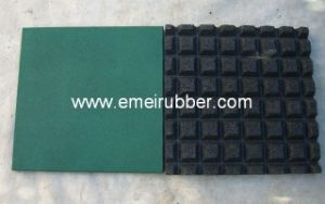 Gym Safety Rubber Tile /Excellent Rubber Floor pictures & photos
