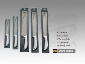 PP Handle Kitchen Knife (MS21-16095) pictures & photos