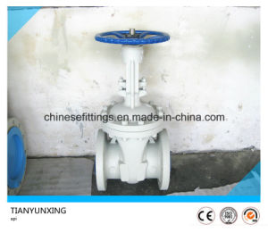 Flanged API 600 Casting ANSI Carbon Steel Gate Valves pictures & photos