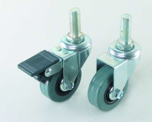 Screw Head Rubber Caster (M6501S) pictures & photos