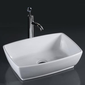 Unique Porcelain Bathroom Vessel Sinks (6081) pictures & photos