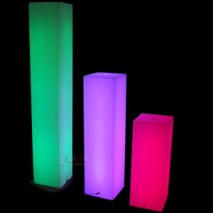 Illuminated Columns Illuminated Rectangle or Illuminated Cylinder pictures & photos
