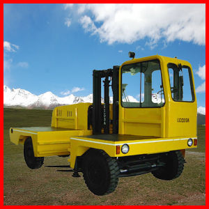Side Loader Diesel Forklift Truck pictures & photos