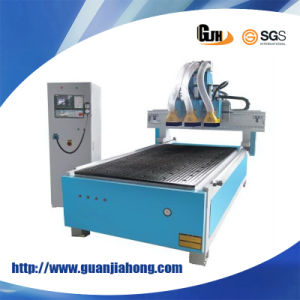 3 Spindle, Automatic Change CNC Router Engraving Machine pictures & photos