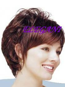 Synthetic Wigs Full Lace Wig Short Wigs for Black Women pictures & photos