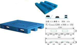 Heavy-Duty Virgin HDPE Plastic Pallet (JW-CN1412465) pictures & photos