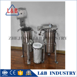 Bag Filter Housing, Sanitary Stainless Steel Liquid Bag Filter pictures & photos