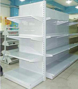 Supermarket&Store Display Equipment/Metal Gondola Storage Shelf&Rack System (QH-FG-02)