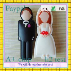 Wedding Bride and Groom Pen Drive (GC-C006) pictures & photos
