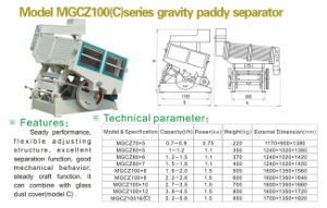 Paddy Separator (MGCZ SERIES) pictures & photos