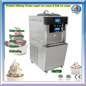 Yogurt ice cream machine HM729 with NSF ETL CE certificate pictures & photos
