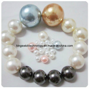 Round Pearl Imitation Glass Loose Spacer Beads 8mm pictures & photos