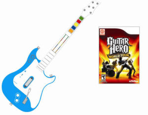 Wireless Guitar Hero/Guitar Controller/Game Accessories for Wii