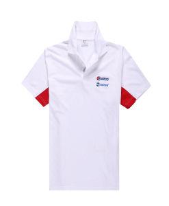 100% Polyester Men Fashion Cheap Slub Polo Shirts pictures & photos