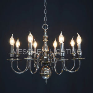 Antique Iron Chandelier with 6 to 8 Lights