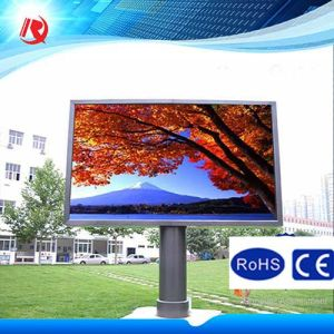 10mm Pixels Red White Amber Colour P10 LED Display Modules pictures & photos