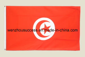 Tunisia National Flag pictures & photos