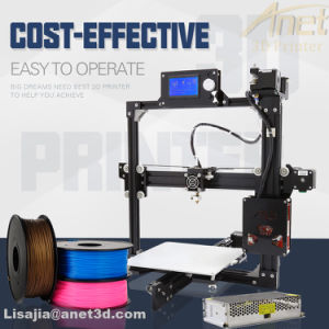 Anet Large Printing Size 3D Printer 220X220X230mm with Metal Heated Bed pictures & photos