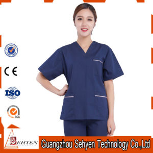 Reusable Surgical Gowns Unisex Medical Cotton Hospital Uniforms pictures & photos