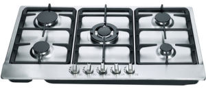 Gas Hob Five Burner Stainless Steel Panel (GH-S905C) pictures & photos