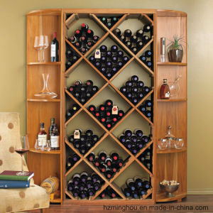 Antique Solid Wood Cabinet for Wood Home Furniture Wine Storage pictures & photos