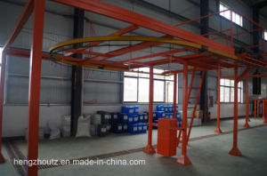 Automatic Powder Coating Line for Air Conditioning Shell pictures & photos