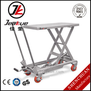 China Factory Price Moveable Lift Table pictures & photos