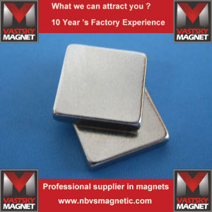 NdFeB Neodymium Block Cube & Bar Magnets Ni Gold Plated pictures & photos