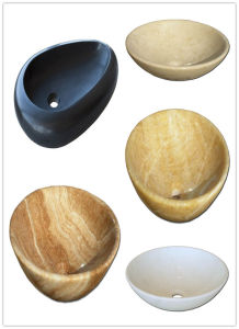Popular Natural Stone Bowls, Marble Wash Sink, Stone Bowls, Marble Basin pictures & photos