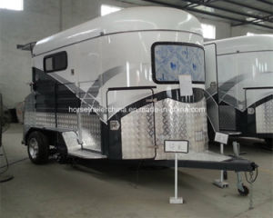 professional Manufacturer Deluxe 2 Horse Trailer Hot Selling in UK pictures & photos