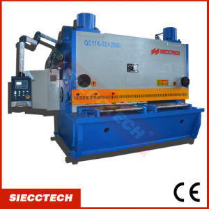 QC11y Hydraulic Swing Beam Shearing Machine/Sheet Metal Shearing Machine/Metal Cutter pictures & photos