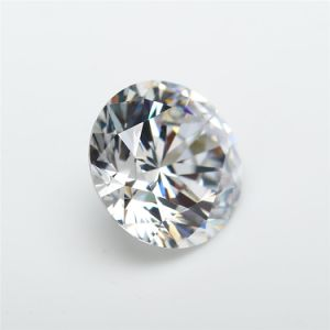 Loose Synthetic Round Brillant Cut White Cubic Zirconia pictures & photos