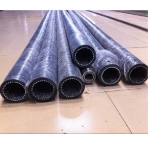 Black Wear Resistant Ceramic Lining Rubber Hose pictures & photos