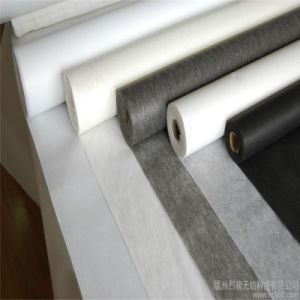 20-80GSM Nonwovens Fusible Paper Thermal Bonded Interlining for Garment Accessories pictures & photos